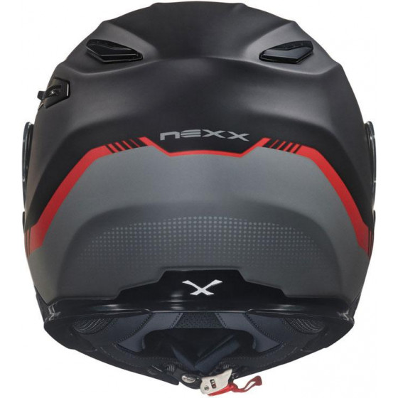 CASCO NEXX X.VILITUR LATITUDE BLACK / RED
