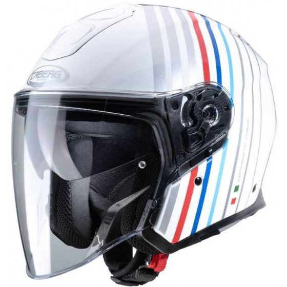 CASCO CABERG FLYON BAKARI WHITE / SILVER / BMW