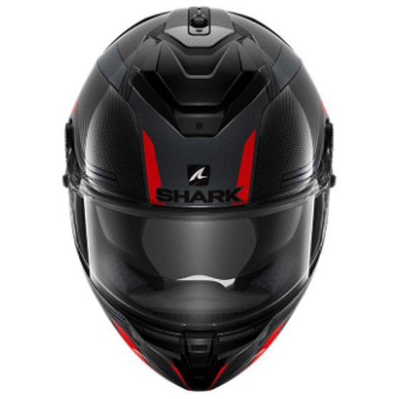 CASCO SHARK SPARTAN GT CARBON TRACKER RED/ANTHR