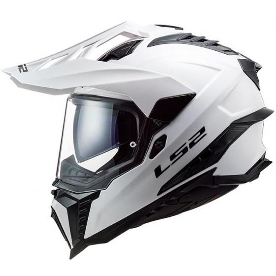 CASCO LS2 MX701 EXPLORER SOLID WHITE