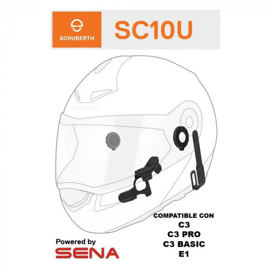 BLUETOOTH SCHUBERTH SC10U C3 PRO/ C3 BASIC/ E1