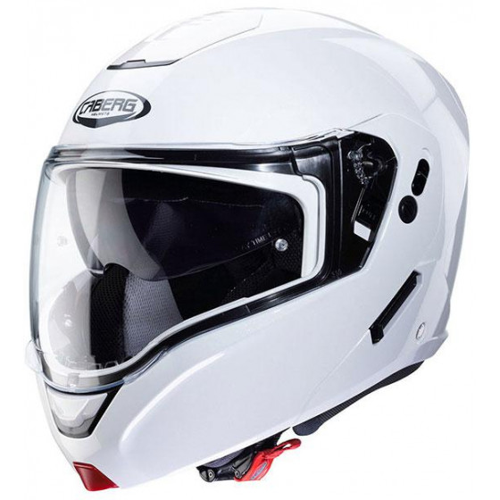 CASCO CABERG HORUS BLANCO BRILLO