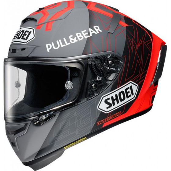 CASCO SHOEI X-SPIRIT III MM93 BK CONCEPT 2.0 TC-1