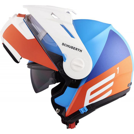 CASCO SCHUBERTH E1 CUT BLUE