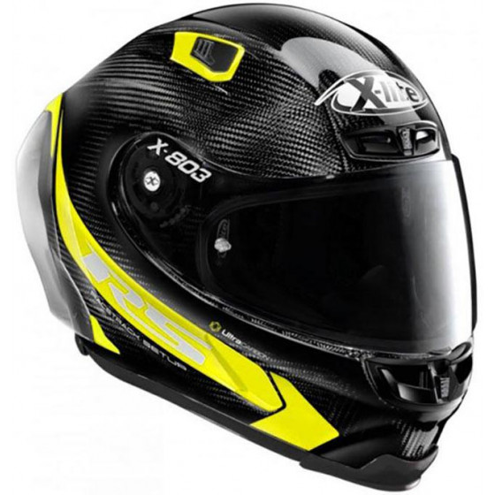 CASCO X-LITE X-803 RS U.C. HOT LAP AMARILLO 16