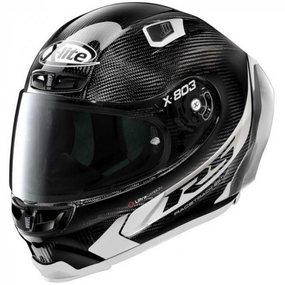 CASCO X-LITE X-803 RS U.C. HOT LAP BLANCO 14